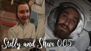 Stelly and Sheve, Episode 5 - Aviation Museum and Knife Throwing