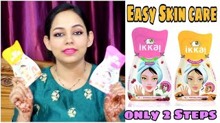 Only 2 Products For Healthy & glowing Skin || Ikkai By Lotus Herbals