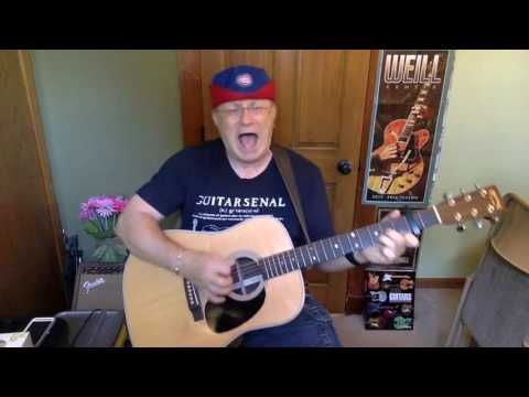 2071 -  Oh Darling  - Beatles vocal & acoustic guitar cover & chords