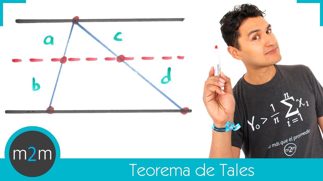 Teorema de Tales - YouTube