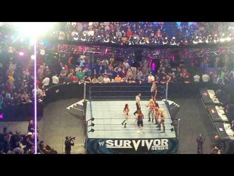 WWE Survivor Series 2008 Team RAW vs. Team Smackdown Diva Entrances