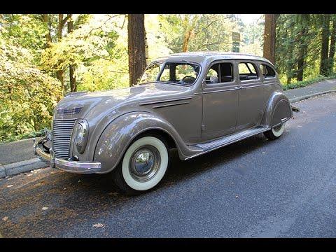 1937 Chrysler Airflow Charvet Classic Cars Youtube