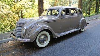 1937 Chrysler Airflow. Charvet Classic Cars