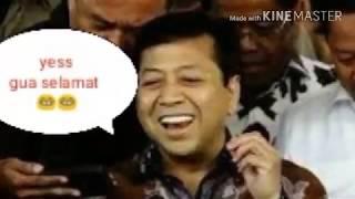 Setnov selamat dari sidang pengadilan Tipikor Jakarta guys