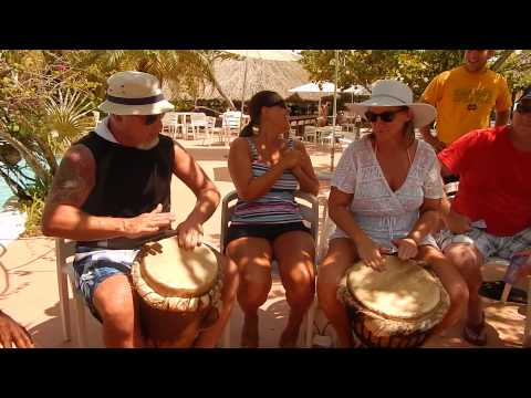 Congo Drumming at Couples Swept Away