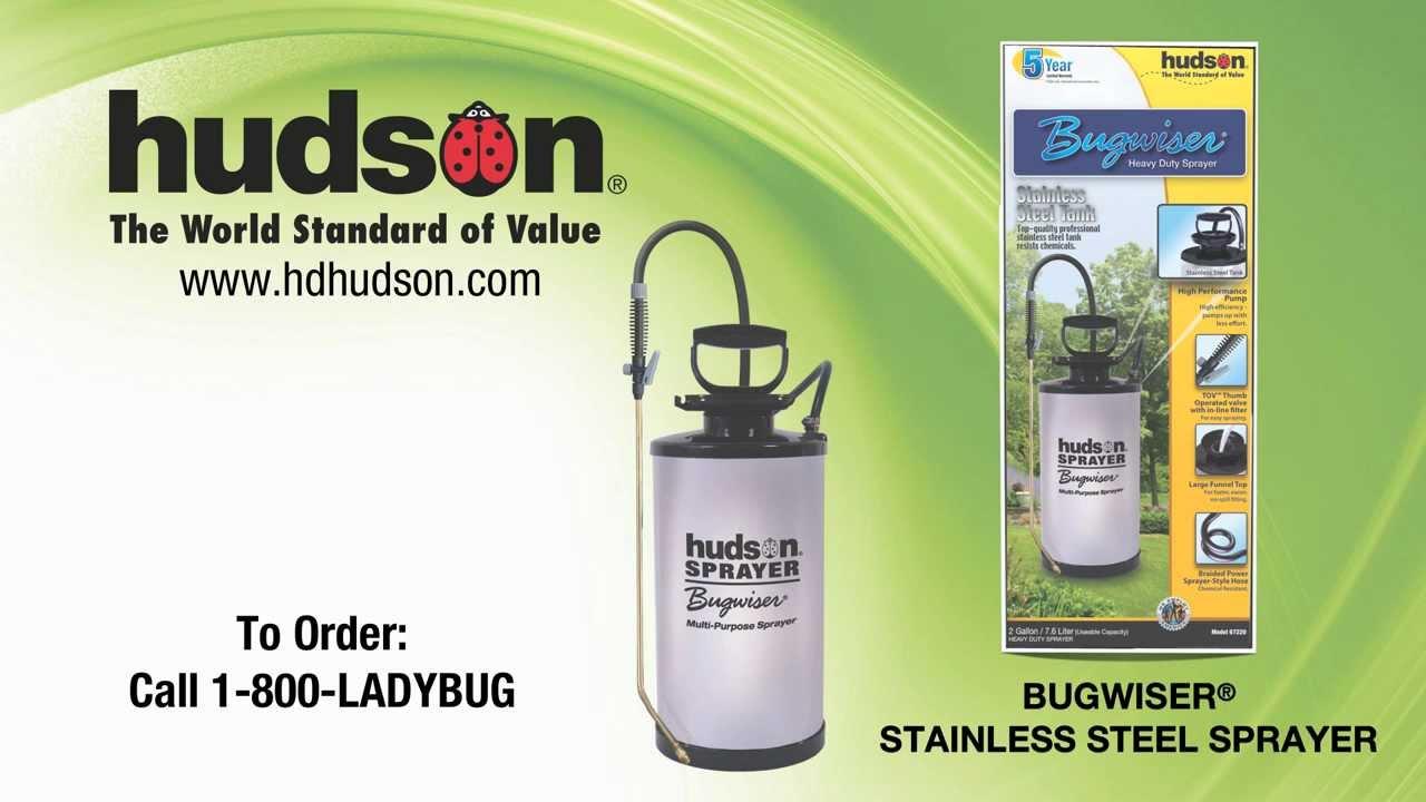 Hudson Bugwiser Stainless Steel Sprayer