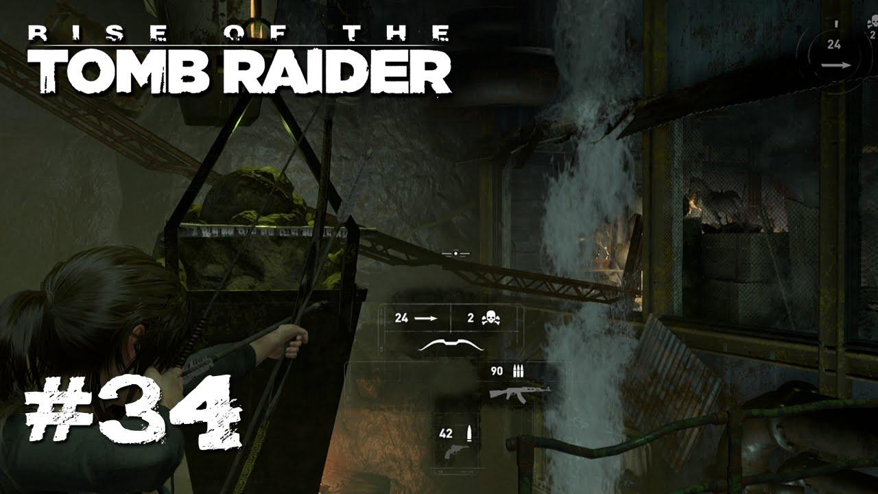 Das Wasser muss WEG! - Let's Play Rise Of The Tomb Raider #34 [Xbox One]