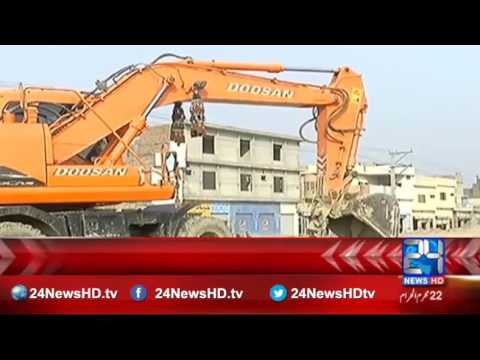 Rawalpindi bypass project work stopped in Gujranwala