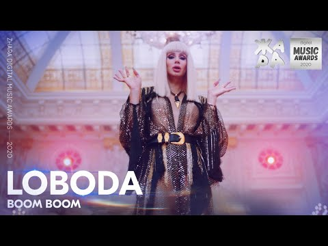 LOBODA - BOOM BOOM /// ЖАРА DIGITAL MUSIC AWARDS 2020