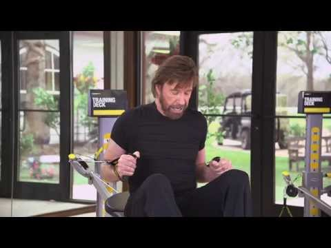 3 Simple Total Gym Exercises with Chuck Norris