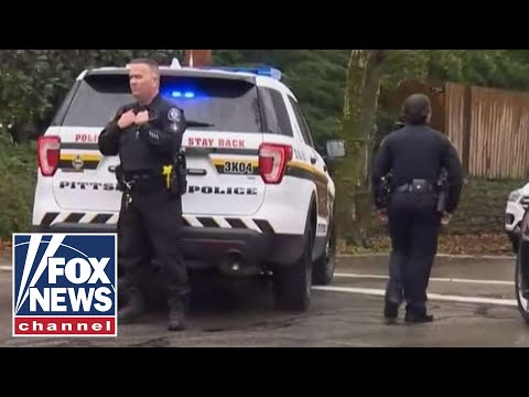 At least 8 dead in shooting at Pittsburgh synagogue