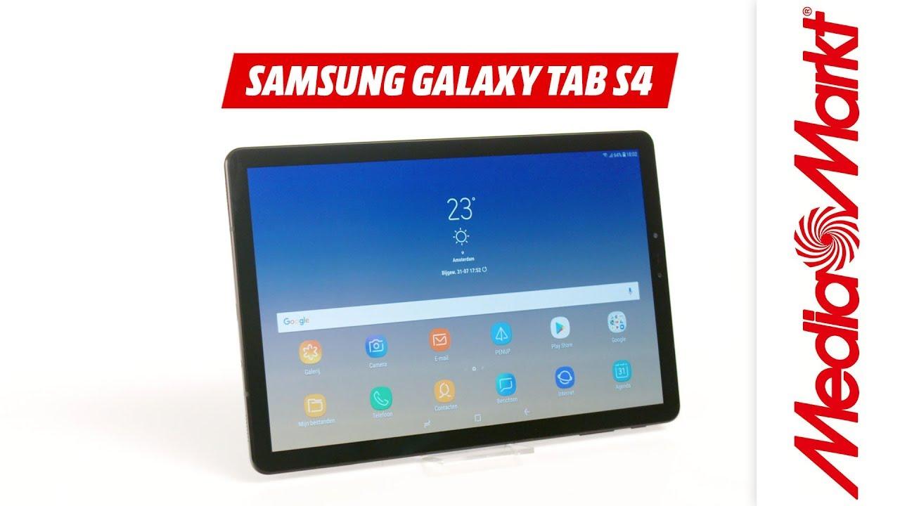 Samsung Galaxy Tab S4 Productvideo Mediamarkt Youtube