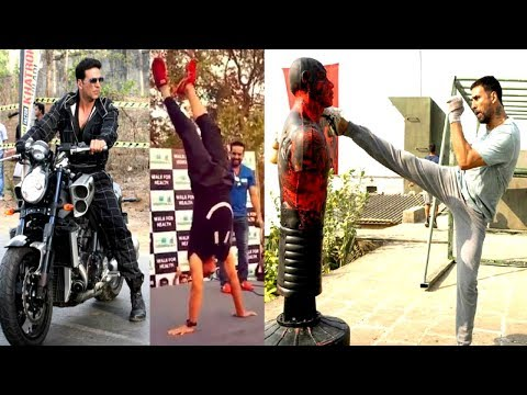 Akshay Kumar's REAL & LIVE Stunts | Akshay Kumar STUNTS Video