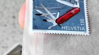 Victorinox - почтовые марки - Helvetia 2006 год