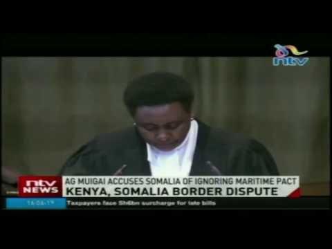 AG Muigai accuses Somalia of ignoring maritime pact