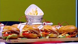 غادة التلي تحضر ساندويشات دجاج الكودو