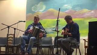 Dromore TradFest Colm Slattery accordion.