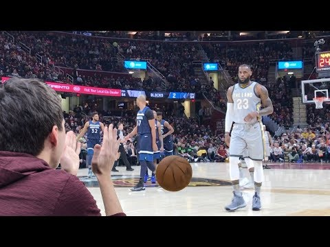 LEBRON JAMES GAVE ME THE GAME BALL!! NOT CLICKBAIT