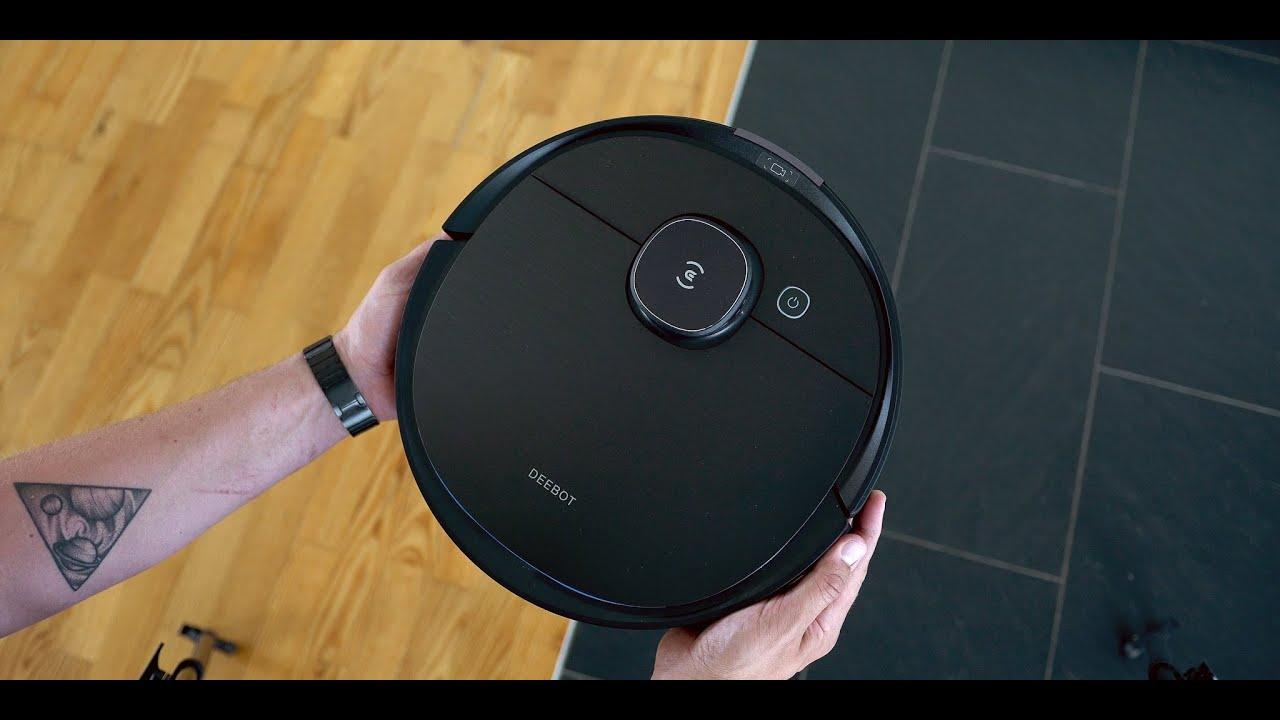 video Ecovacs Deebot Ozmo T8 Aivi – intelligenter Saugroboter