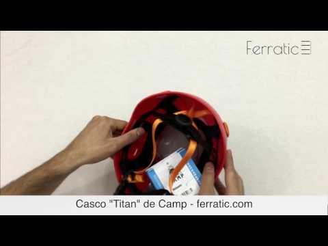 Casco Titan rojo de Camp - Ferratic