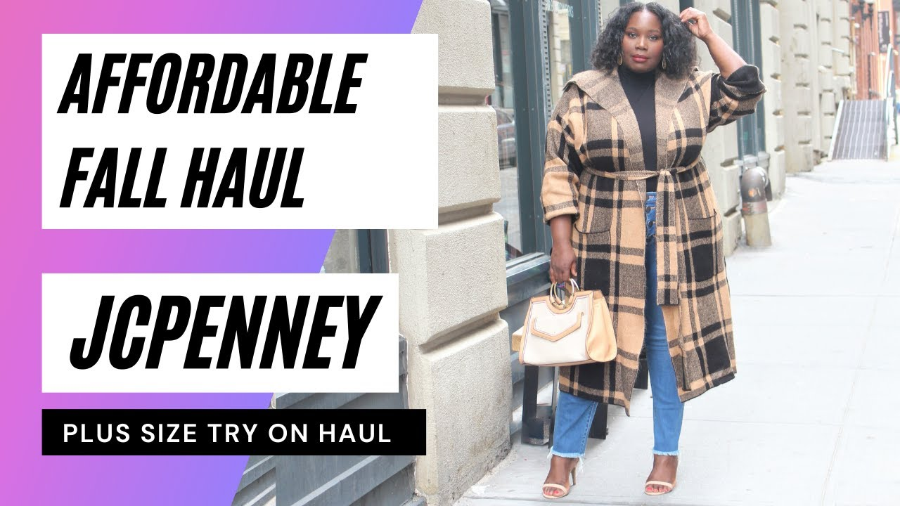 Download JCPENNEY PLUS SIZE FALL TRY ON HAUL | Stylish Curves