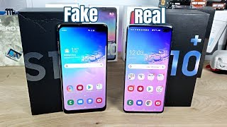 Samsung Galaxy S10+ VS Fake/Clone - Best Looking One I've Seen!