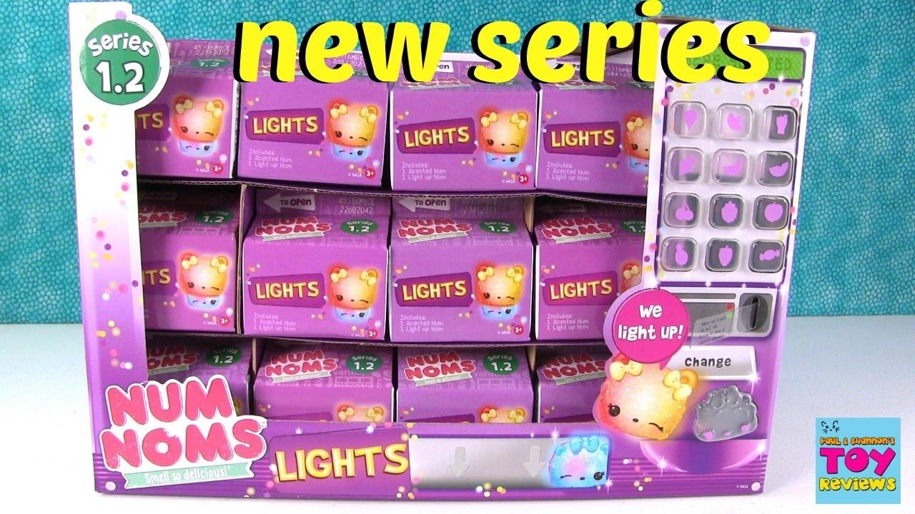 Num Noms Series 1 2 Lights Blind Bag Opening Unboxing
