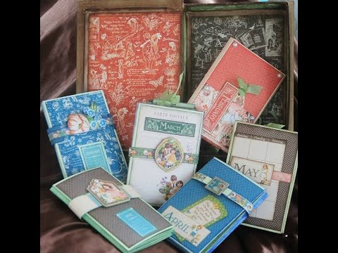 G45 Children's Hour Mini Albums in a Double Book Box with Deb Ochs LaGrone
