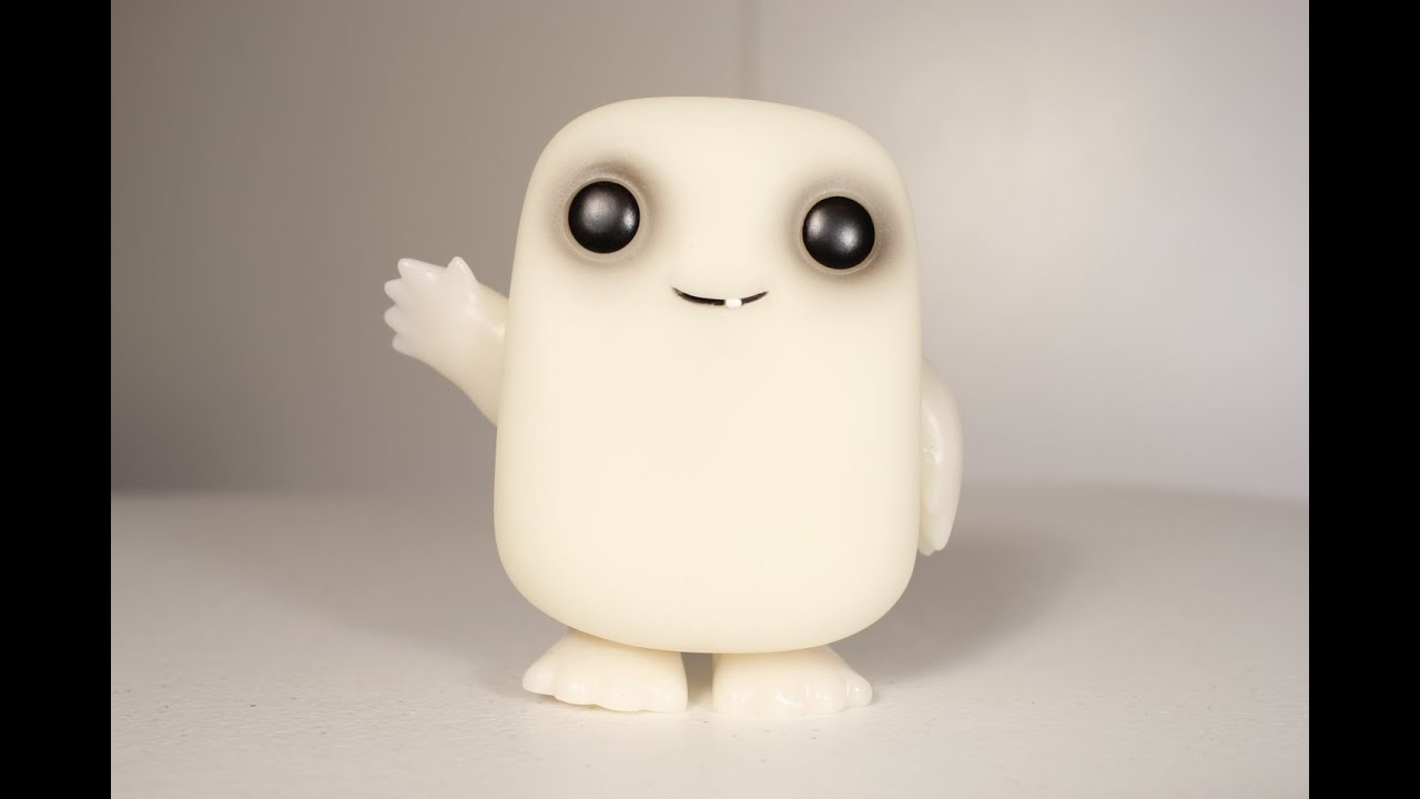 Doctor Who Adipose Glow In The Dark Funko Pop Review Youtube