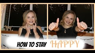 How To Stay Happy | Reality With Riley