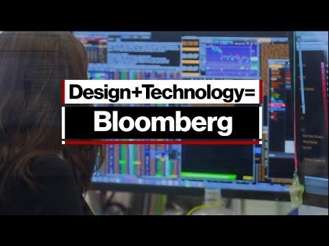 Design + Technology = Bloomberg