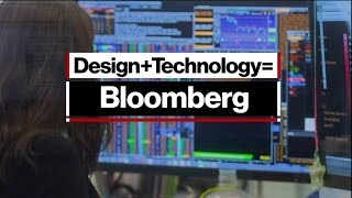 Design + Technology = Bloomberg