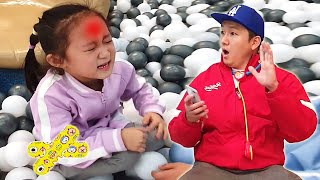 The boo boo song / Nursery rhymes & Kids song /  LoveStar have fun playing at the indoor playground