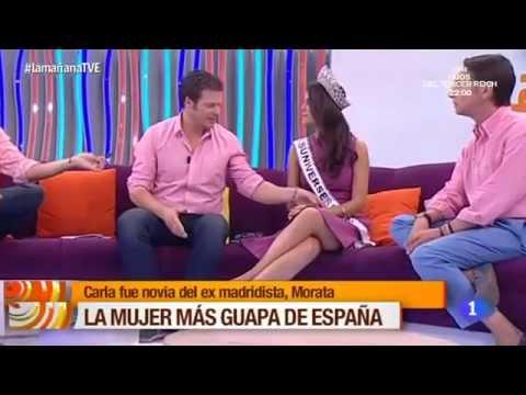 Miss Universe Spain 2015 en La Mañana de TVE