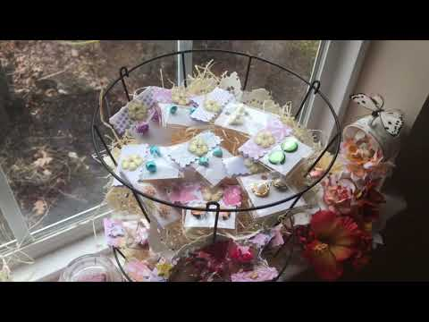 Craft Fair Display Idea using Dollar store items
