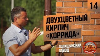 Облицовочный кирпич Голицынский «коррида» Винтаж