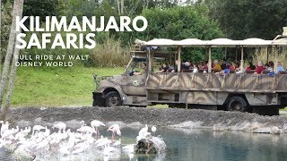 Kilimanjaro Safaris FULL RIDE at Disneys Animal Kingdom Walt Disney World YouTube Videos