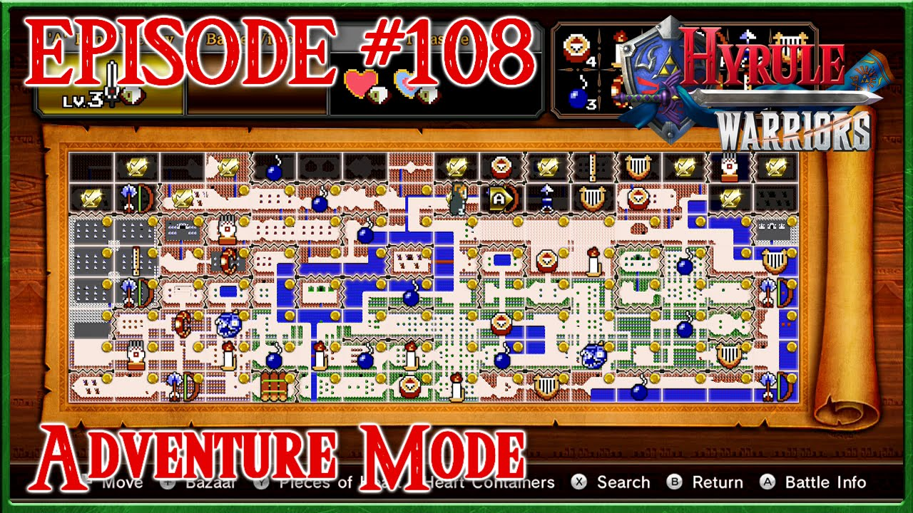 Download Hyrule Warriors - Second Row Underway, True Demon Blade - Adventure Mode - Episode 108