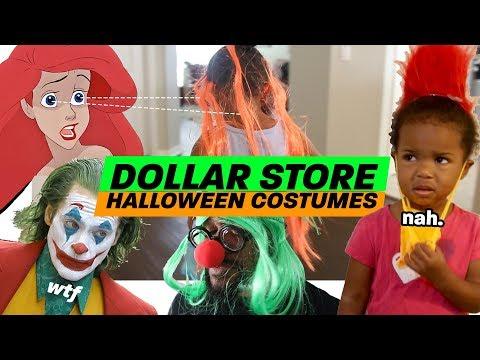 BEST Halloween Costumes *Dollar Store*