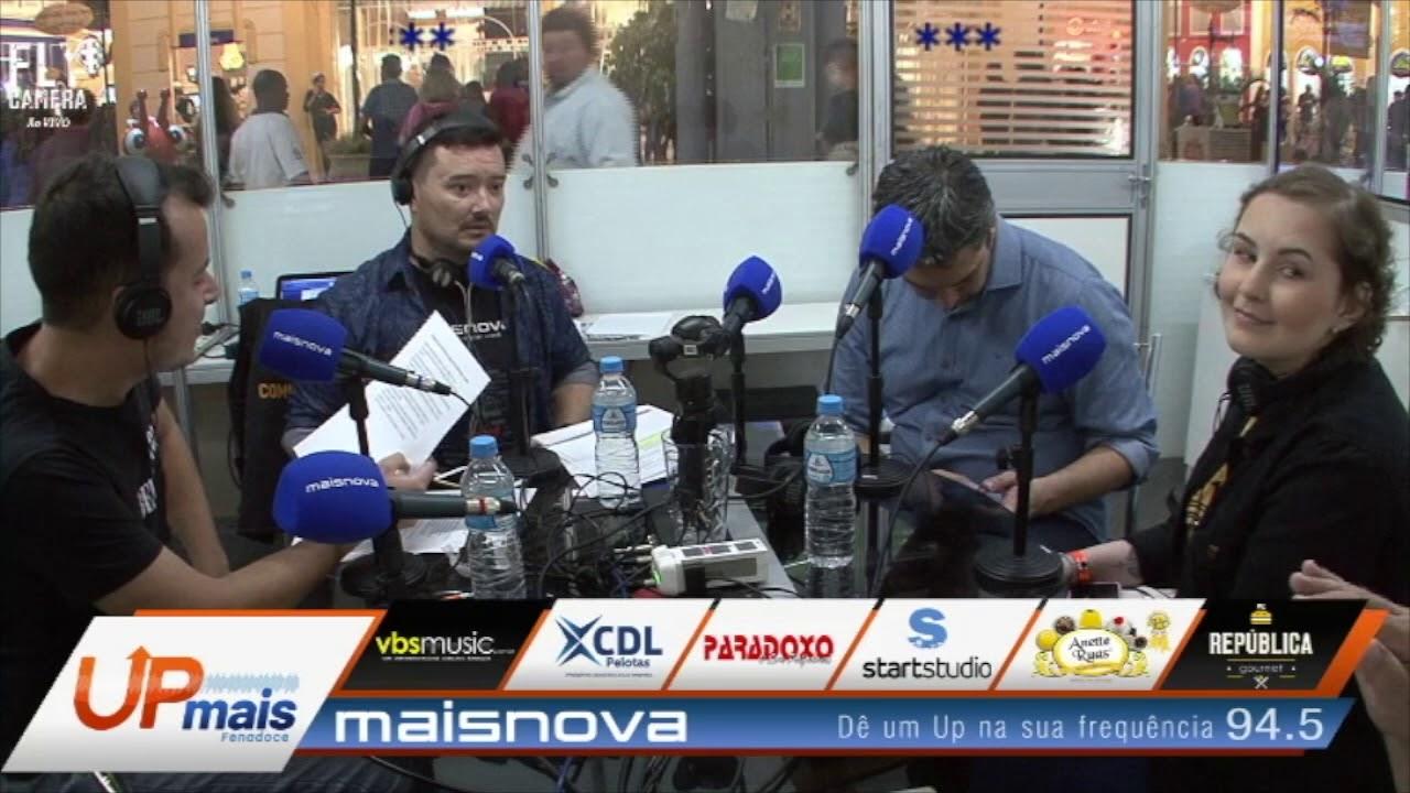 Transmissão ao vivo - 3º Programa Up Mais - Radio Maisnova FM