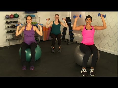 10minute arm workout safe for pregnancy class fitsugar