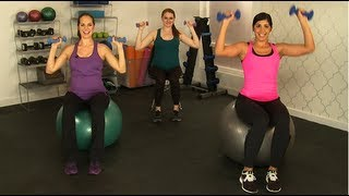 10-Minute Arm Workout, Safe for Pregnancy, Class FitSugar