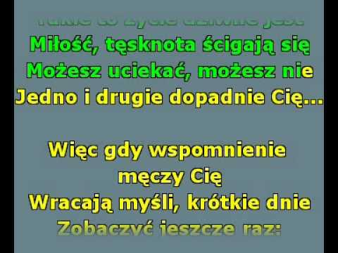 KARAOKE polskie mp3 z tekstem.Ivan i Delfin - Jej czarne oczy.avi