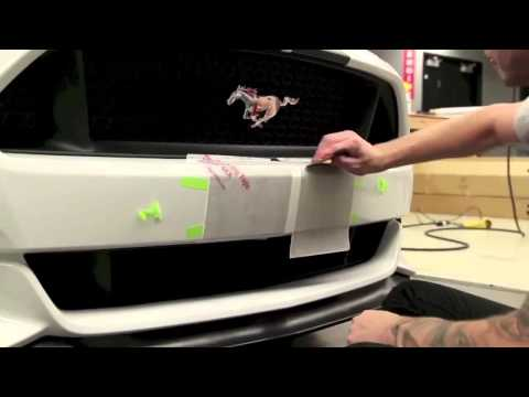 2015 Ford Mustang Dual Stripe Kit Install
