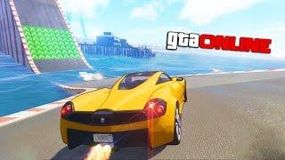 ХАРДКОРНАЯ ДОРОГА ИЗ ВОДЫ в GTA 5 ONLINE (Гонки)