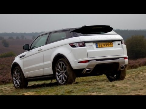 range rover evoque sd4 review youtube. Black Bedroom Furniture Sets. Home Design Ideas