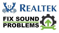 How to Fix Realtek Audio Drivers Not Working - Crackling Sound / No Sound