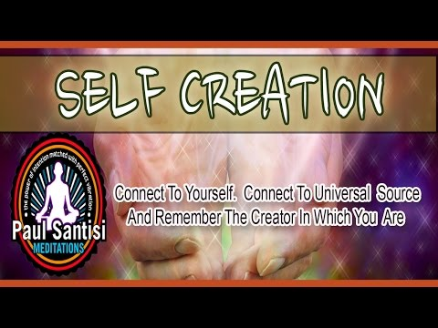 Mind Blowing 3D Sound Guided Meditation SELF CREATION Connecting To Source Energy Paul Santisi