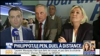 """Philippot: """"Marine Le Pen? Je la sens très aigrie depuis sa débâcle..."""