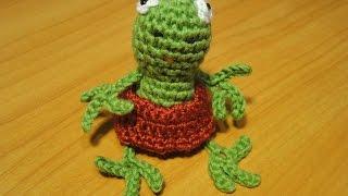 ЛЯГУШОНОК Frog Crochet